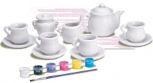4M Mini Tea Set Painting Kit 00-04541 Komplekts Tējas servīze