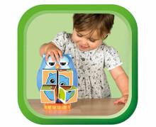 Tomy Art. 72100 Klucīšu puzle Pūce