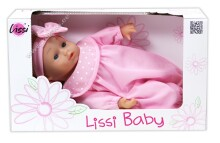 Lissi Baby 91600I 28 cm. Lelle (rozā krasa)