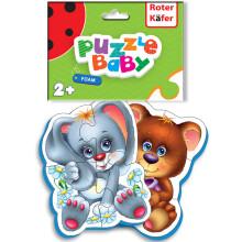 Roter Käfer Baby Puzzle RK1101-04 Bērnu mīksta 3D puzzle Meža iedzīvotāji (Vladi Toys)