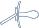 Canpol babies Milky Art.22/542 Simetriskais silikona māneklītis 6-18 mēn.