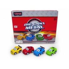 DIe-Cast Metal Car Art.96180 Bērnu rotaļu inercijas mašīna 7cm