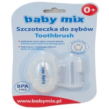 Baby Mix Art.BD31038 Silikona zobu birste ar futlāri