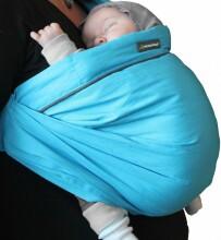 MiniMonkey Baby Sling Unlimited Turquoise Daudzfunkcionalais bērnu slings
