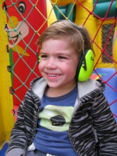 Jippie's Art.858515 Black trokšņus slāpējošas austiņas bērniem