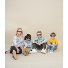 Shadez Designer Polka Sunflower Black Junior Art.SHZ49 Bērnu saulesbrilles, 3-7 gadi