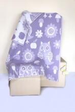 Mežroze Violet Art.89449  Augstvērtīga bērnu kokvilnas sedziņa (sega) 100x140 cm