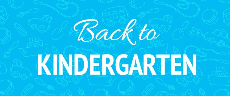 Back to Kindergarten